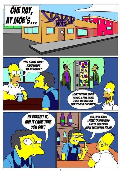 The Simpsons- One Day At Moe's