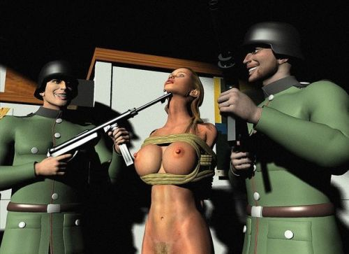 Picture- Huge Tits Nazi Cartoon Bondage Porn