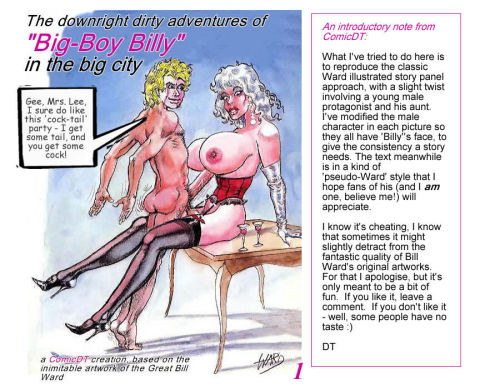 Bill Ward Cartoon Story
