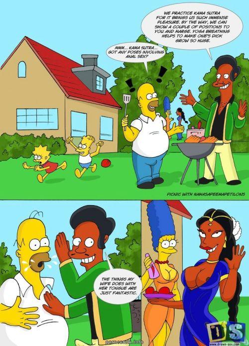 The Simpsons – Kamasutra Picnic